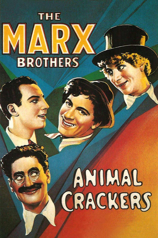 Animal Crackers (1930 film) movie poster