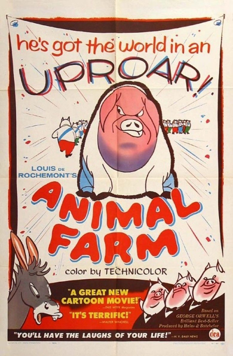 animal farm the social encyclopedia animal farm 1954 film