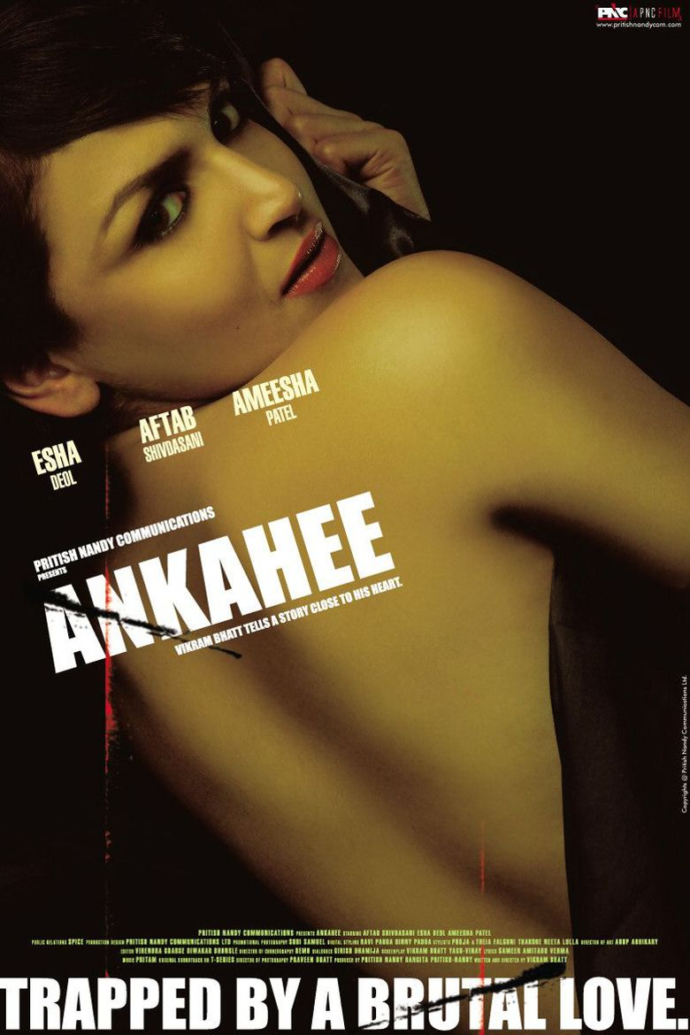 Ankahee (2006 film) movie poster