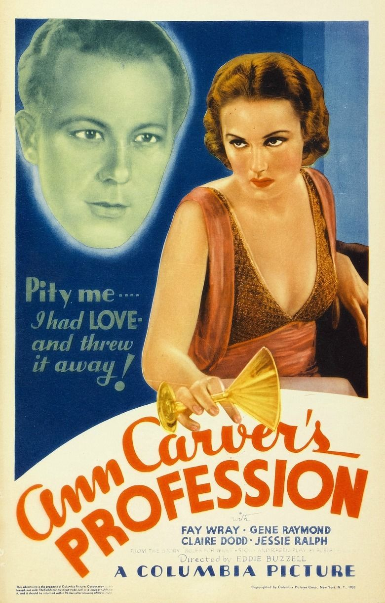 Ann Carvers Profession movie poster