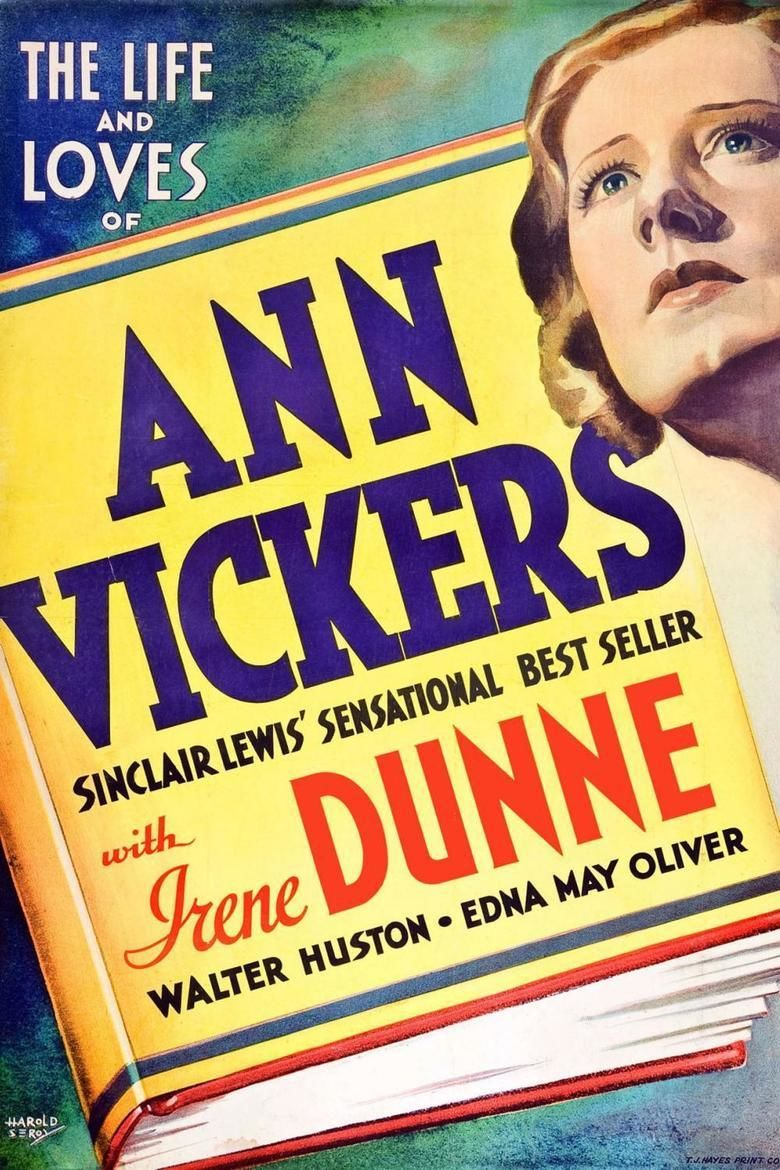 Ann Vickers (film) movie poster