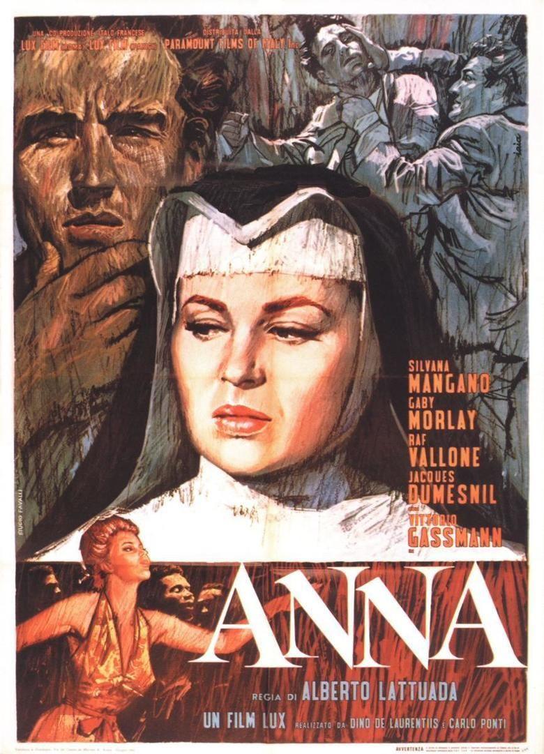 Anna (1951 film) movie poster