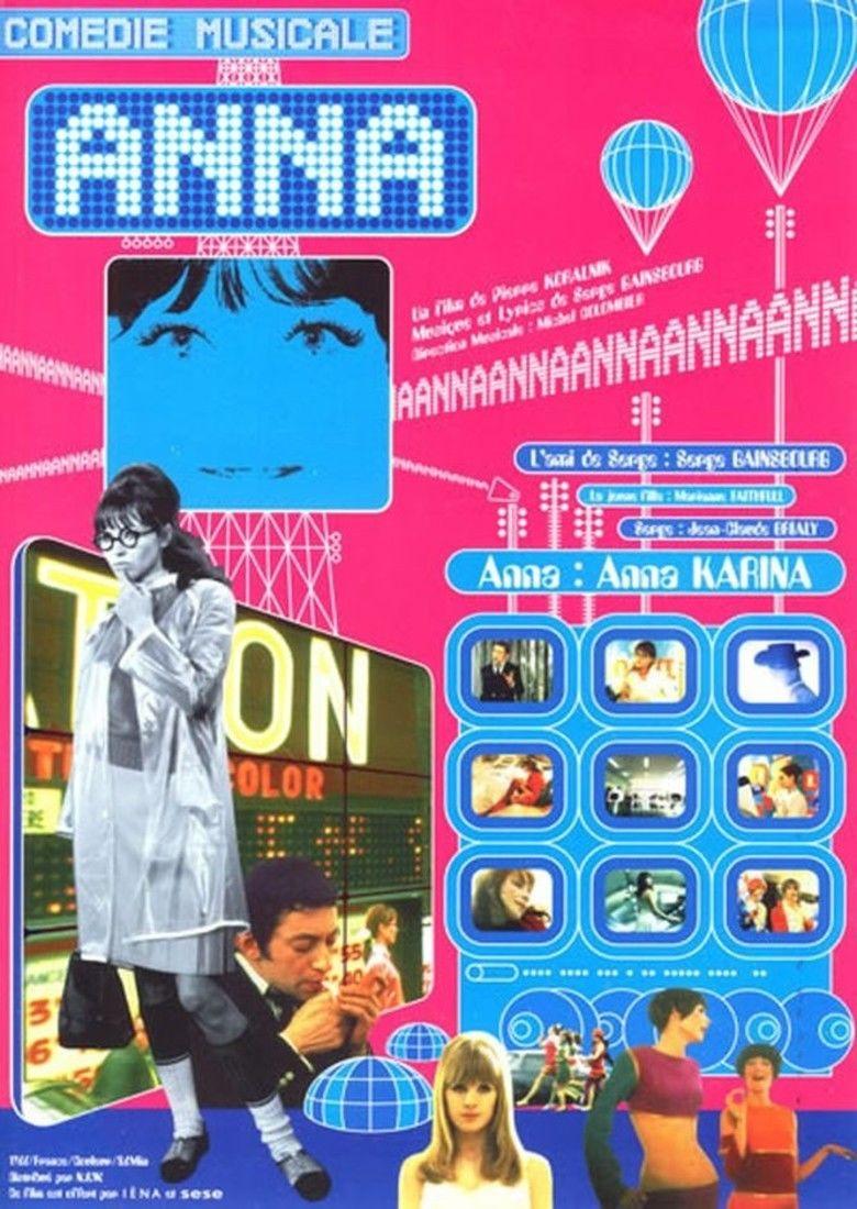 Anna (1967 film) movie poster