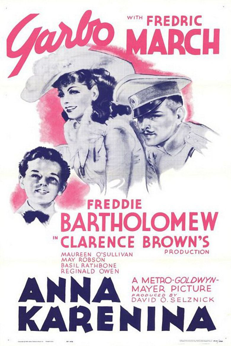 Anna Karenina (1935 film) movie poster