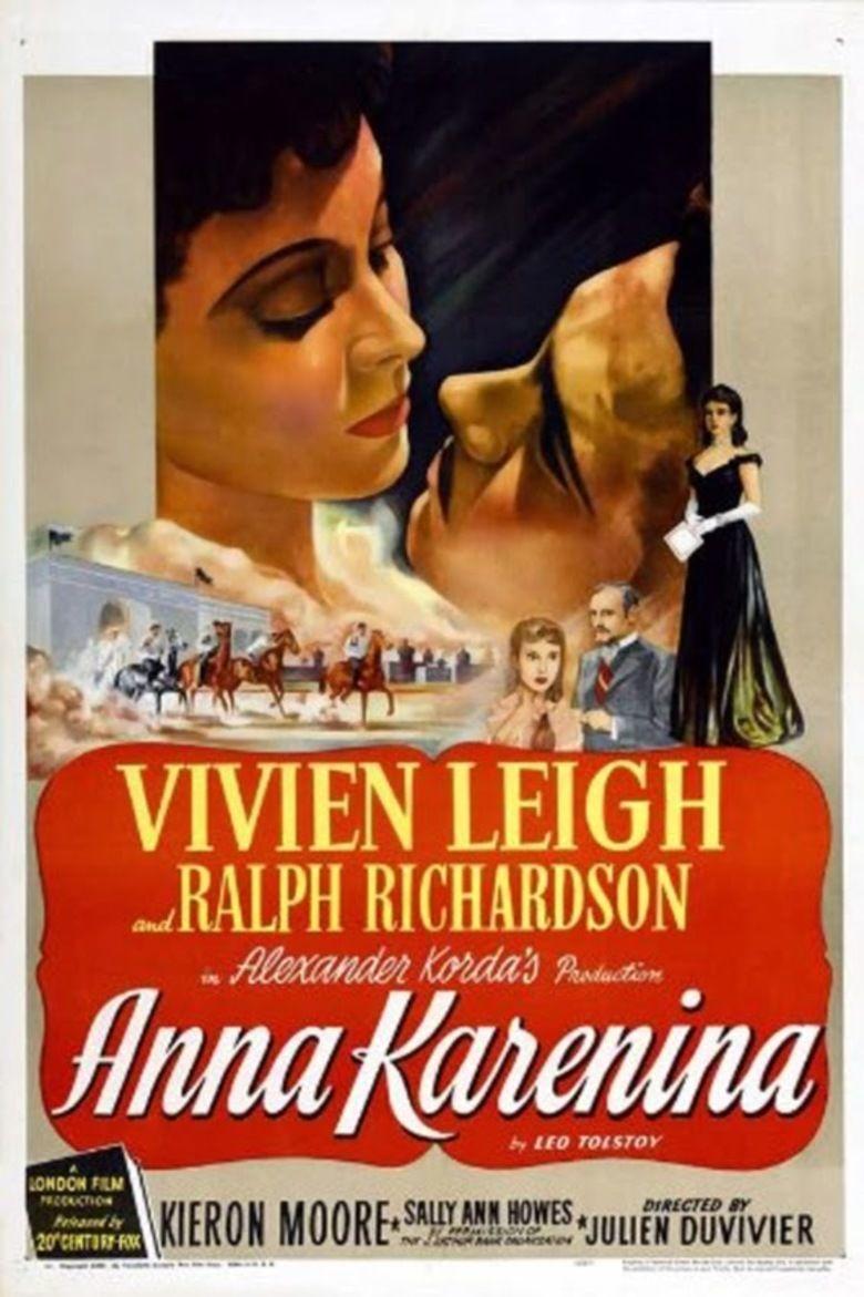 Anna Karenina (1948 film) movie poster