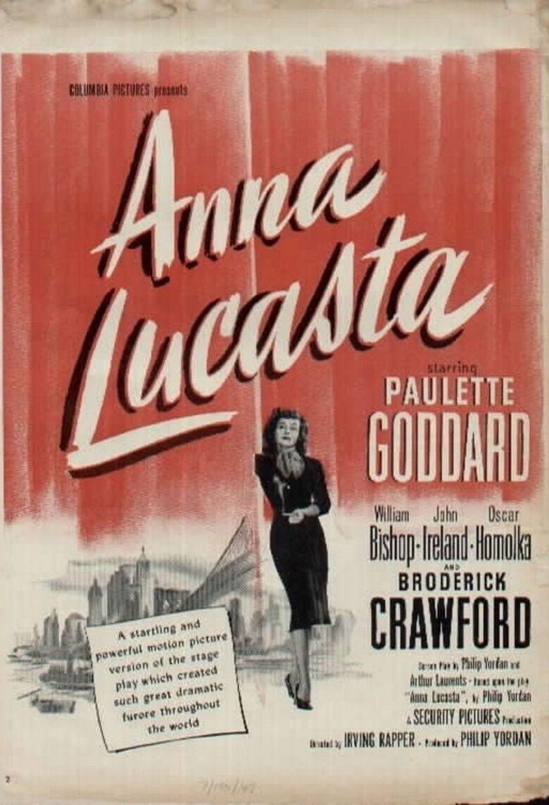 Anna Lucasta (1949 film) movie poster