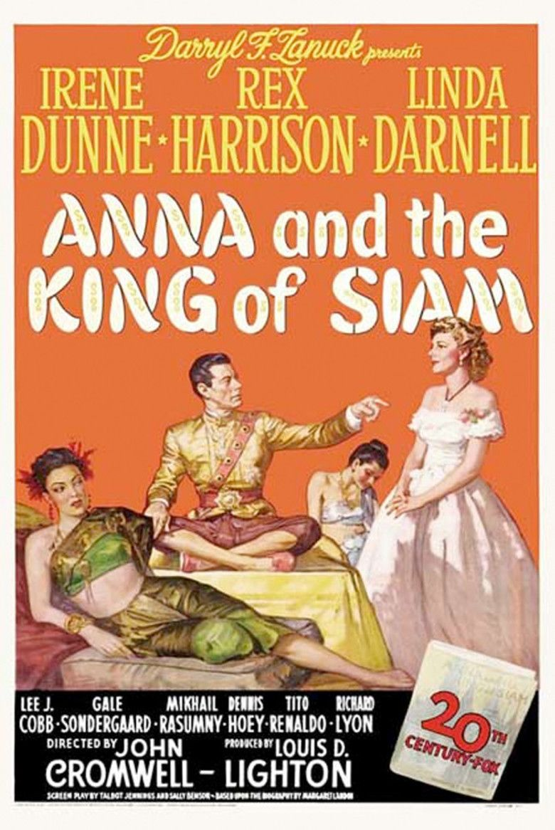 Anna and the King of Siam (film) movie poster