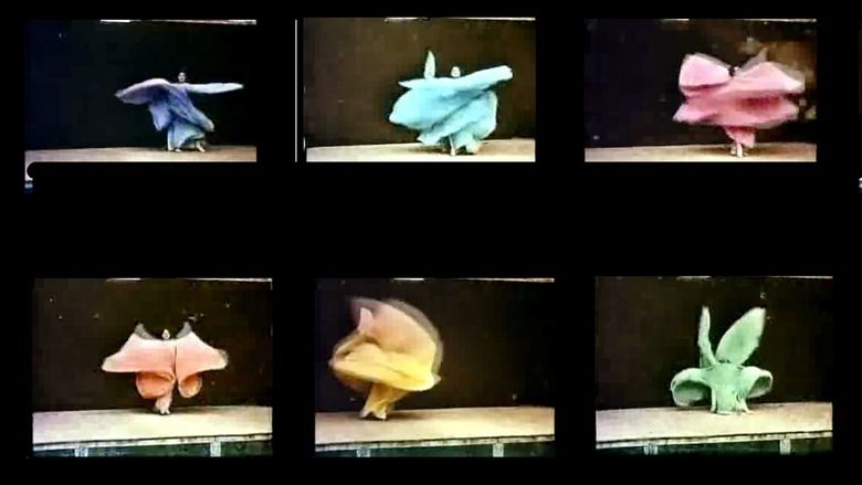Annabelle Serpentine Dance movie scenes