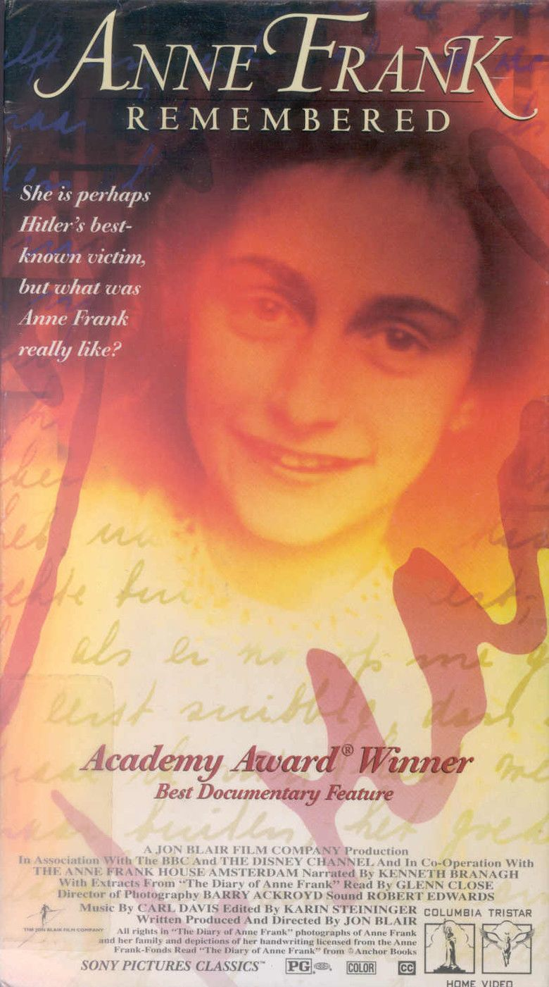 Anne Frank Remembered movie poster