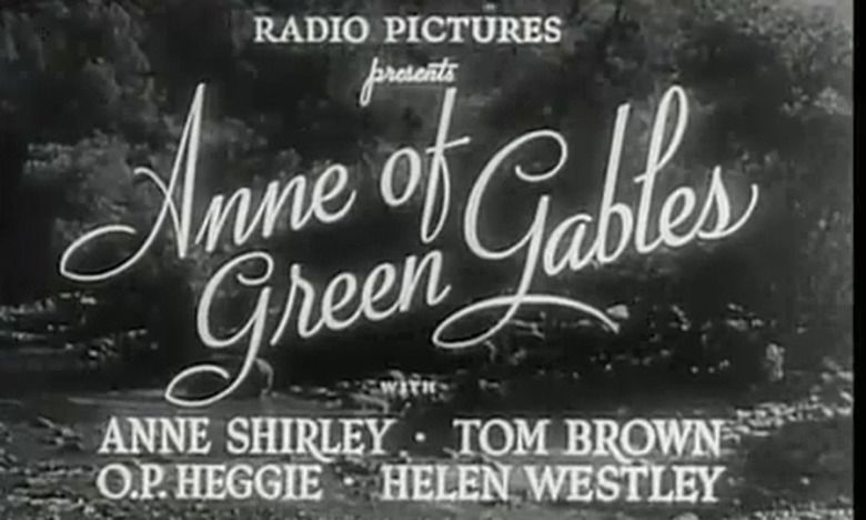 Anne of Green Gables (1934 film) movie scenes