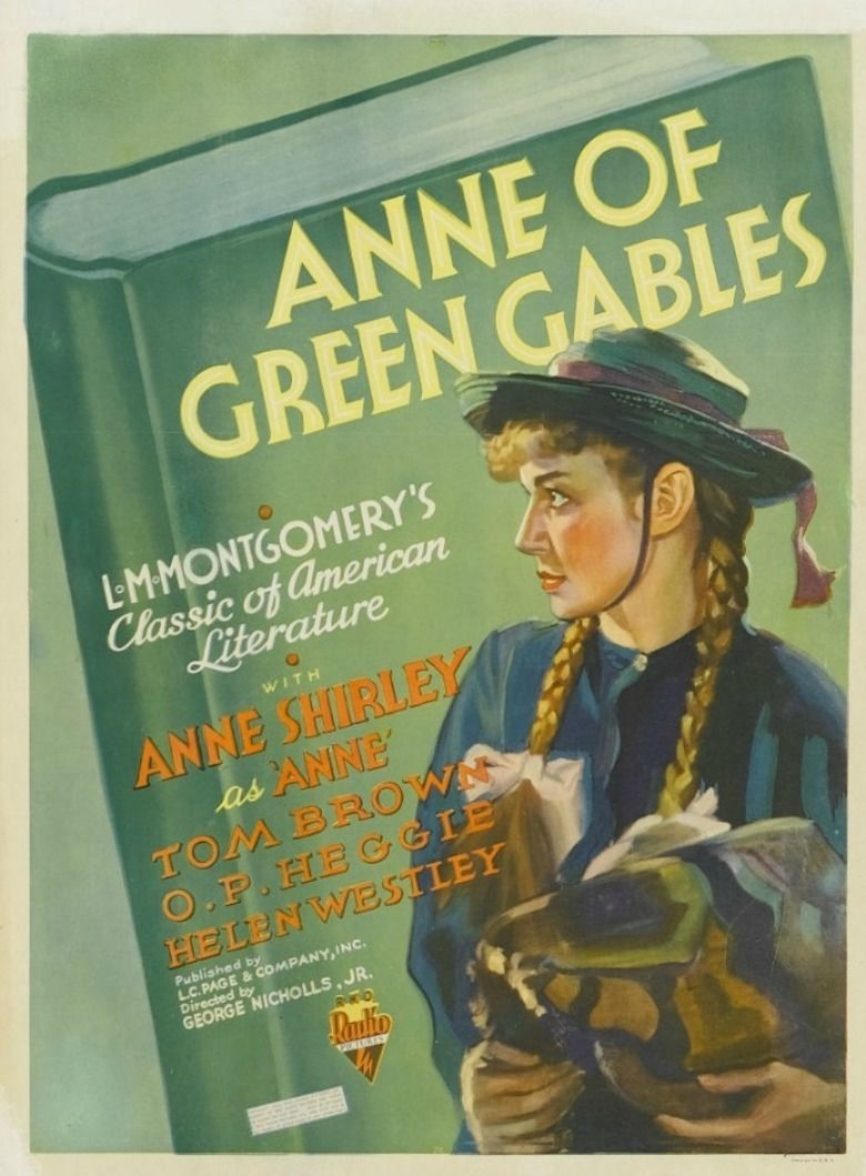 Anne of Green Gables (1934 film) movie poster