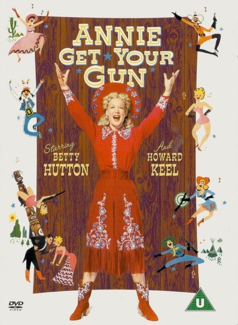 Annie Get Your Gun (film) movie poster