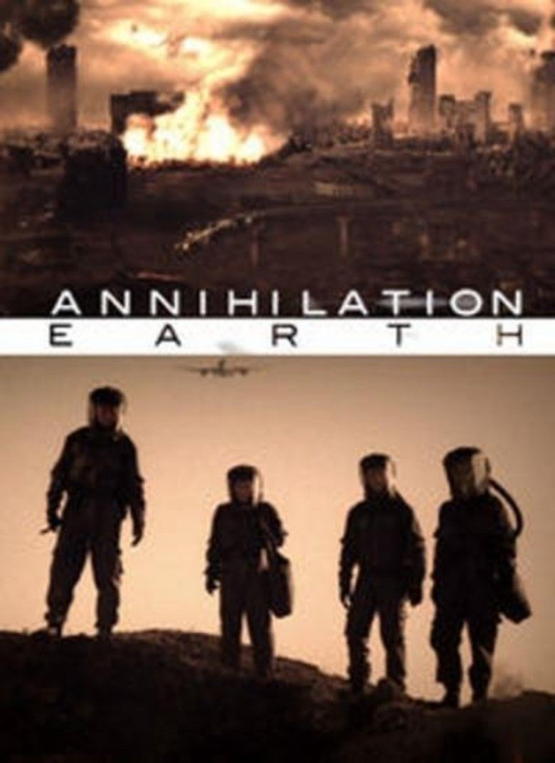 Annihilation Earth movie poster