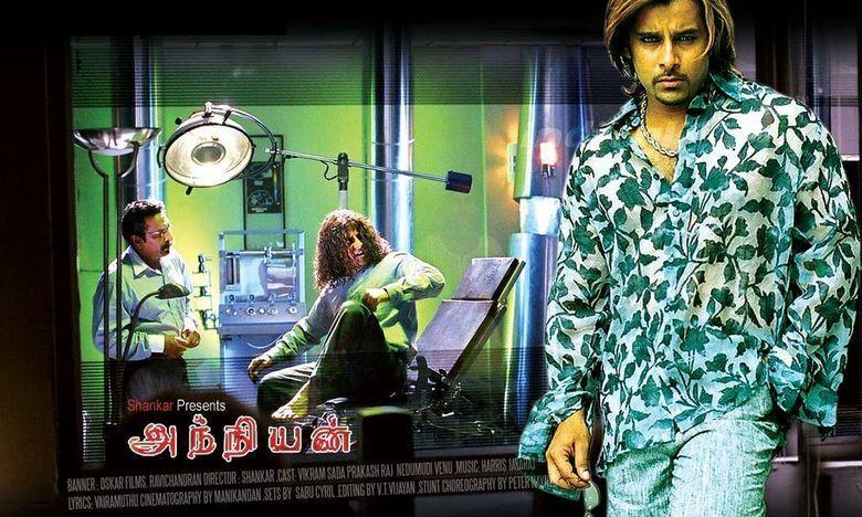 Anniyan movie scenes
