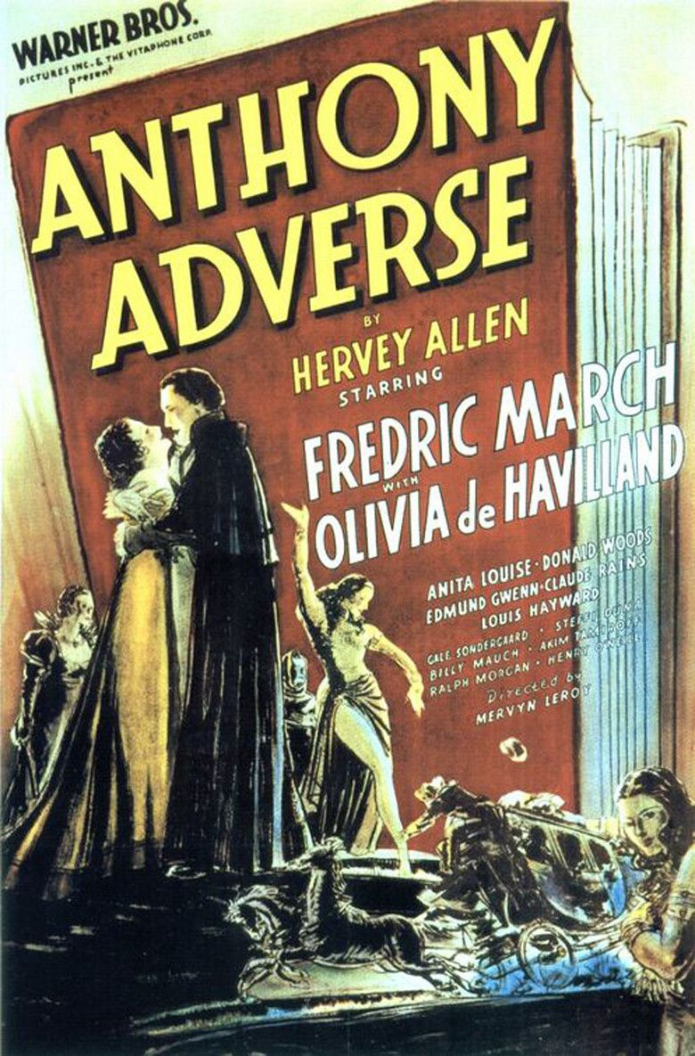 Anthony Adverse movie poster