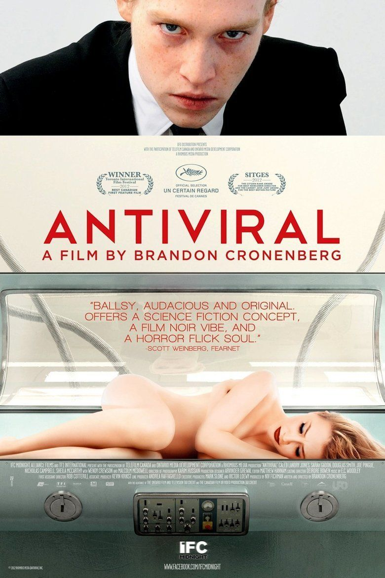 Antiviral (film) movie poster