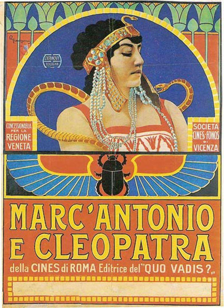 Antony and Cleopatra (1913 film) movie poster