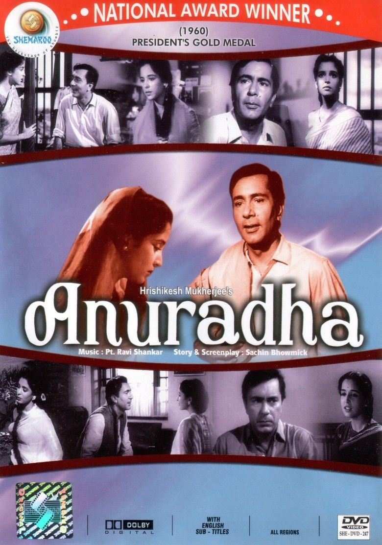 Anuradha (1960 film) movie poster