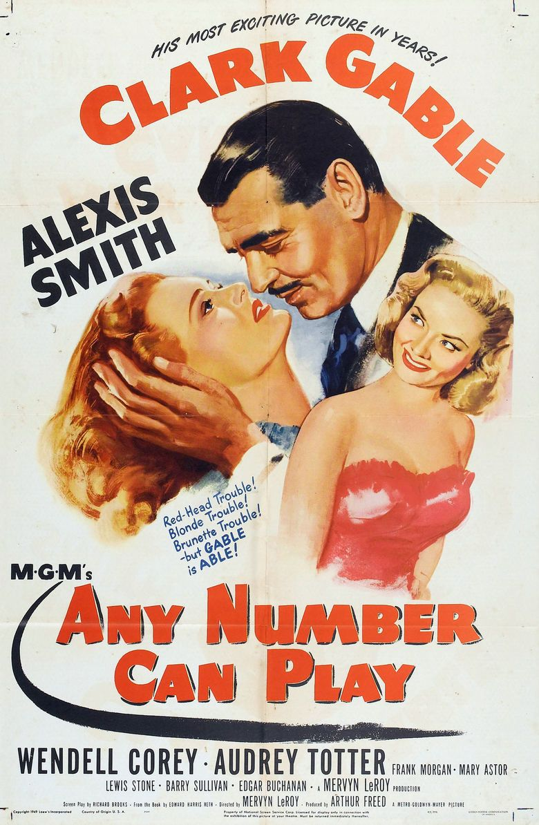 Any Number Can Play movie poster