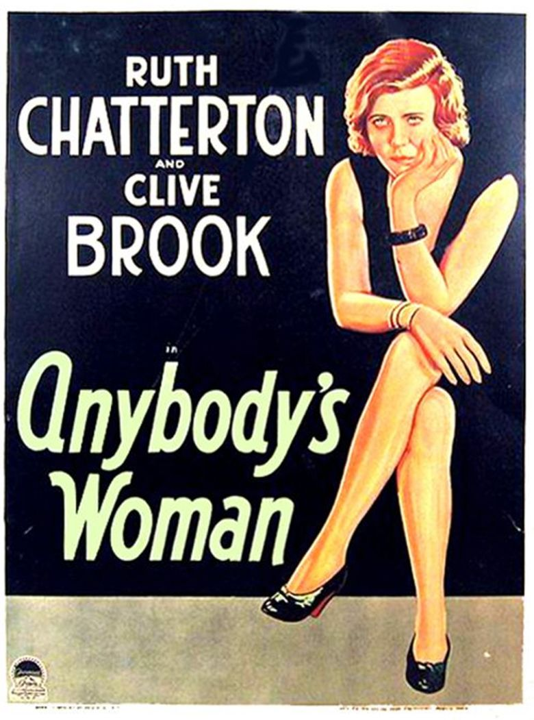 Anybodys Woman movie poster