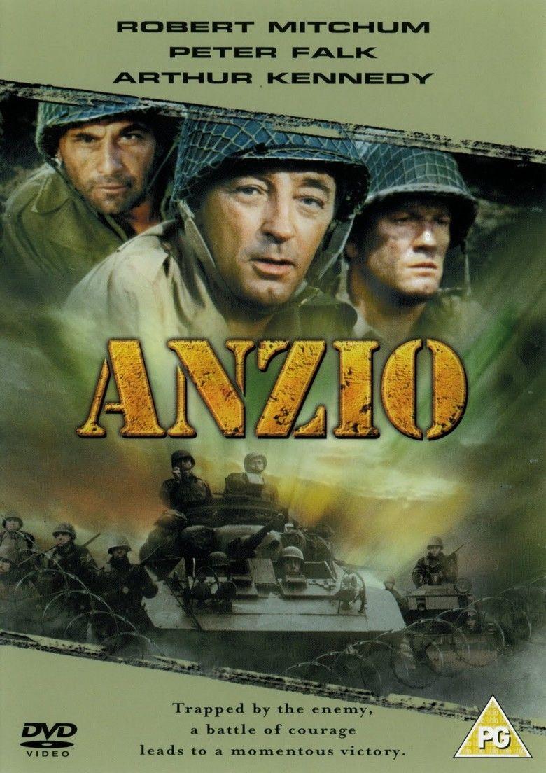 Anzio (film) movie poster