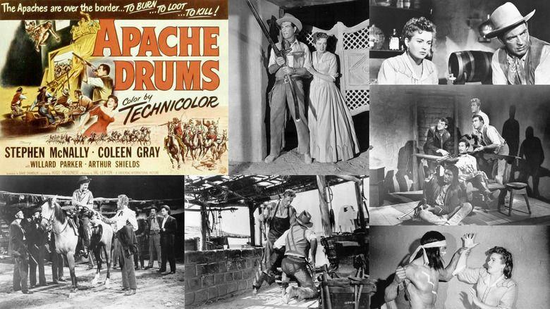 Apache Drums movie scenes