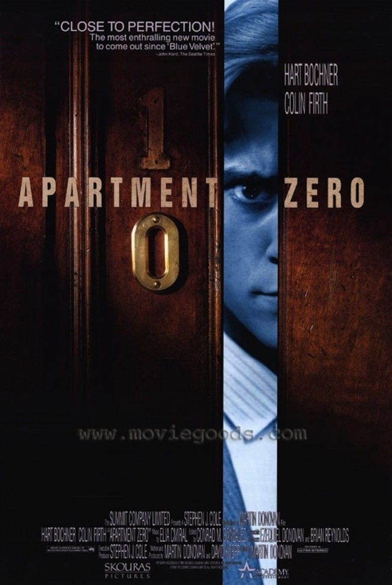Apartment Zero movie poster