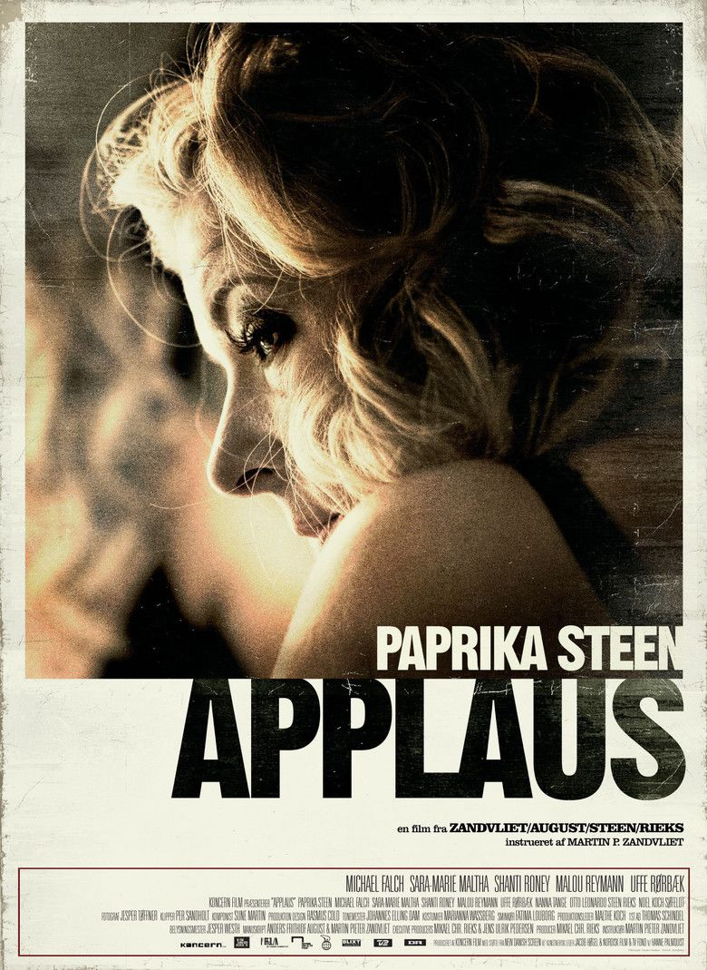 Applause (2009 film) movie poster