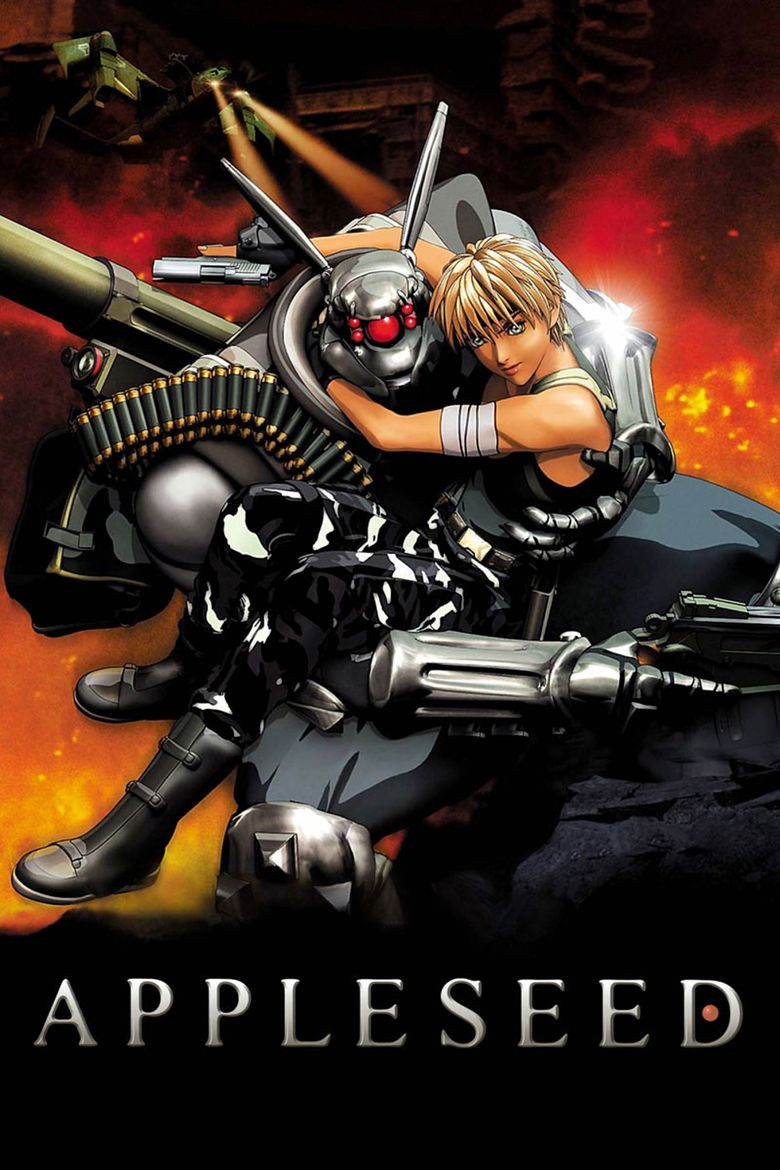 Appleseed (film) movie poster