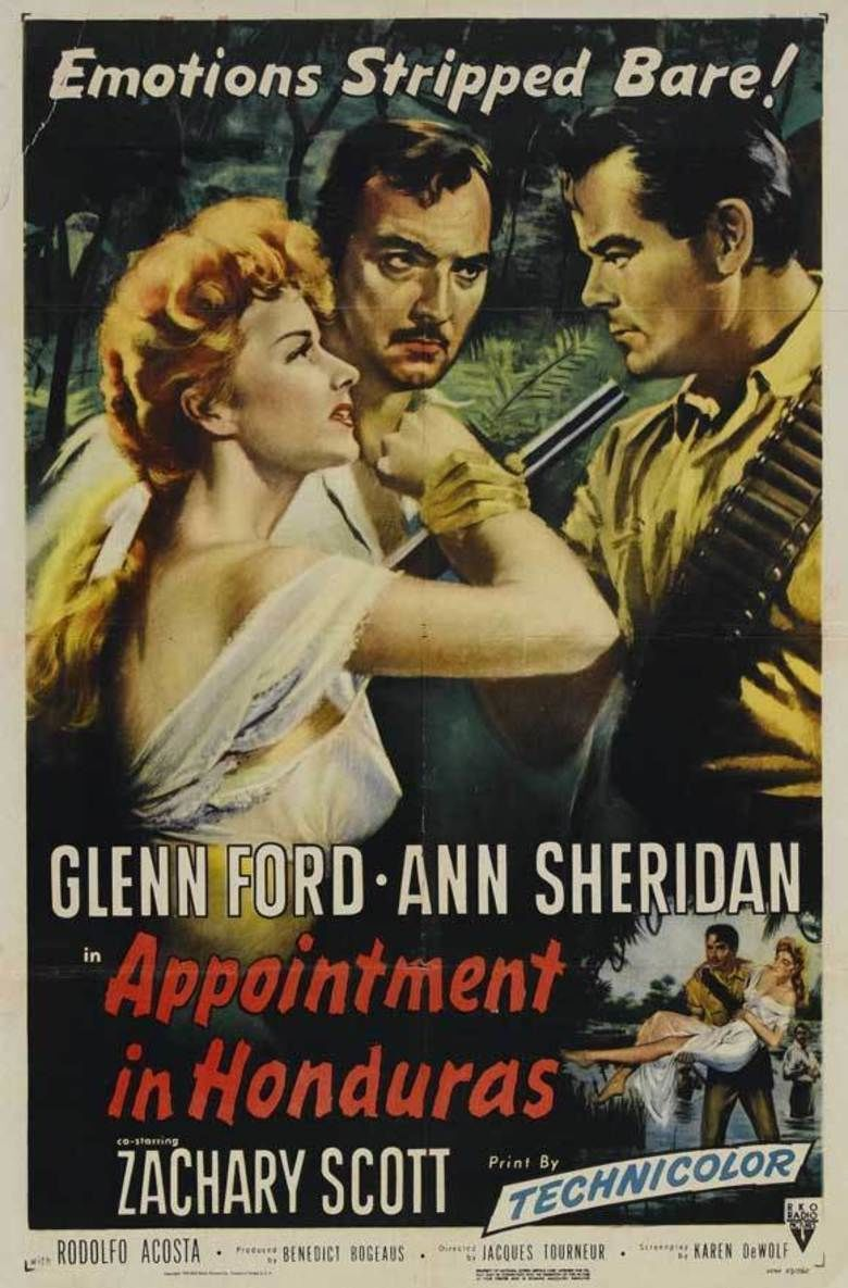 Appointment in Honduras movie poster