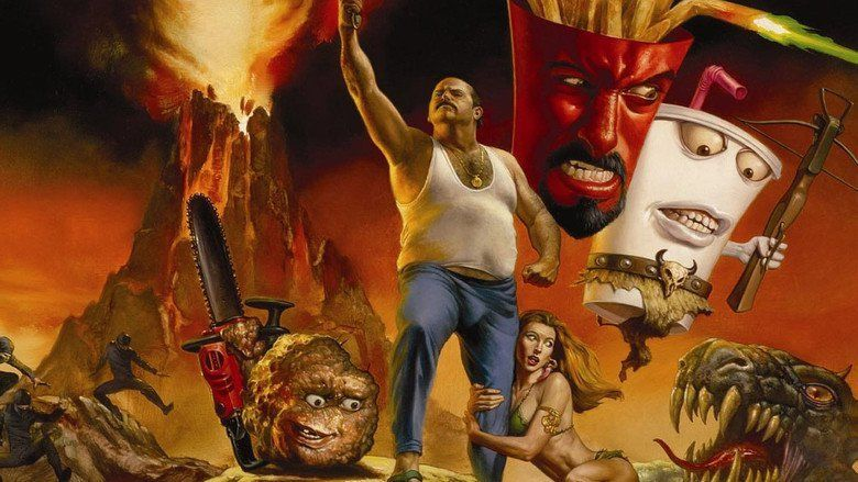 Aqua Teen Hunger Force Colon Movie Film for Theaters movie scenes