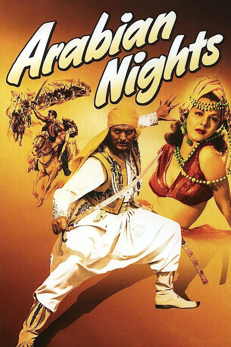 Arabian Nights (1942 film) movie poster