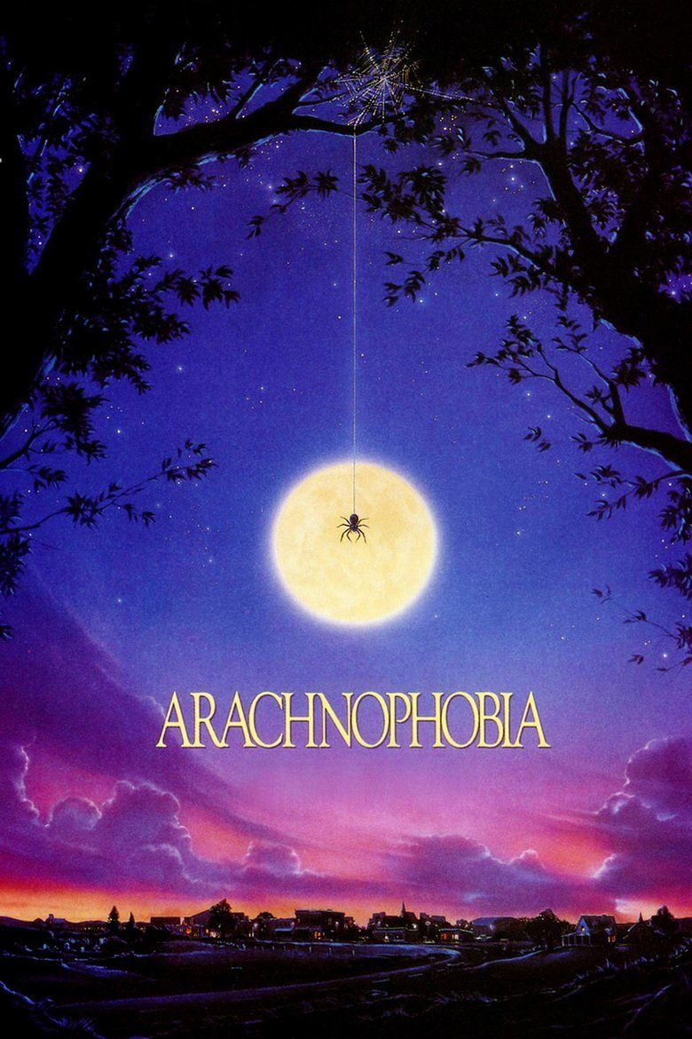 Arachnophobia (film) movie poster