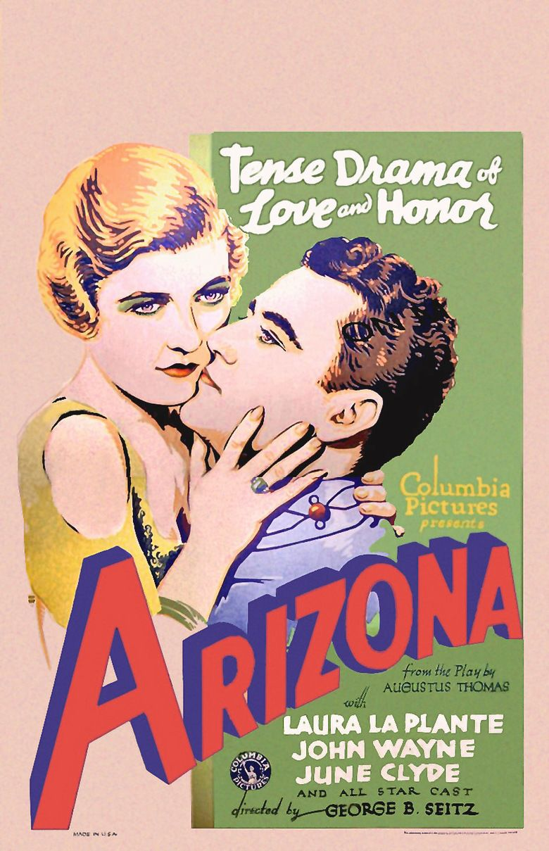 Arizona (1931 film) movie poster