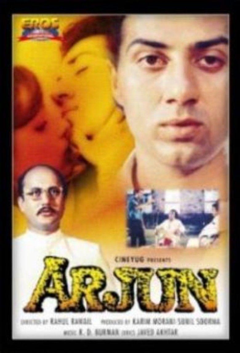 Arjun (1985 film) movie poster
