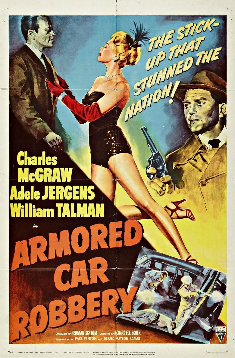 Armored Car Robbery movie poster