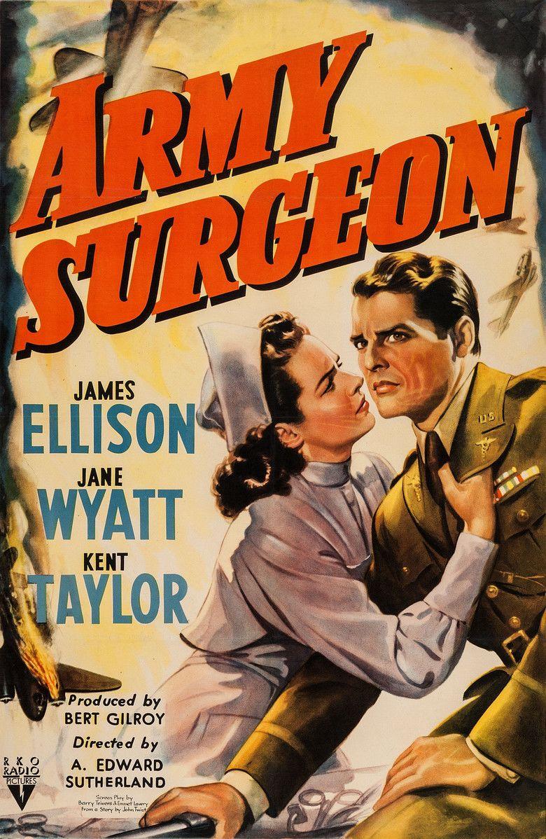 Army Surgeon movie poster