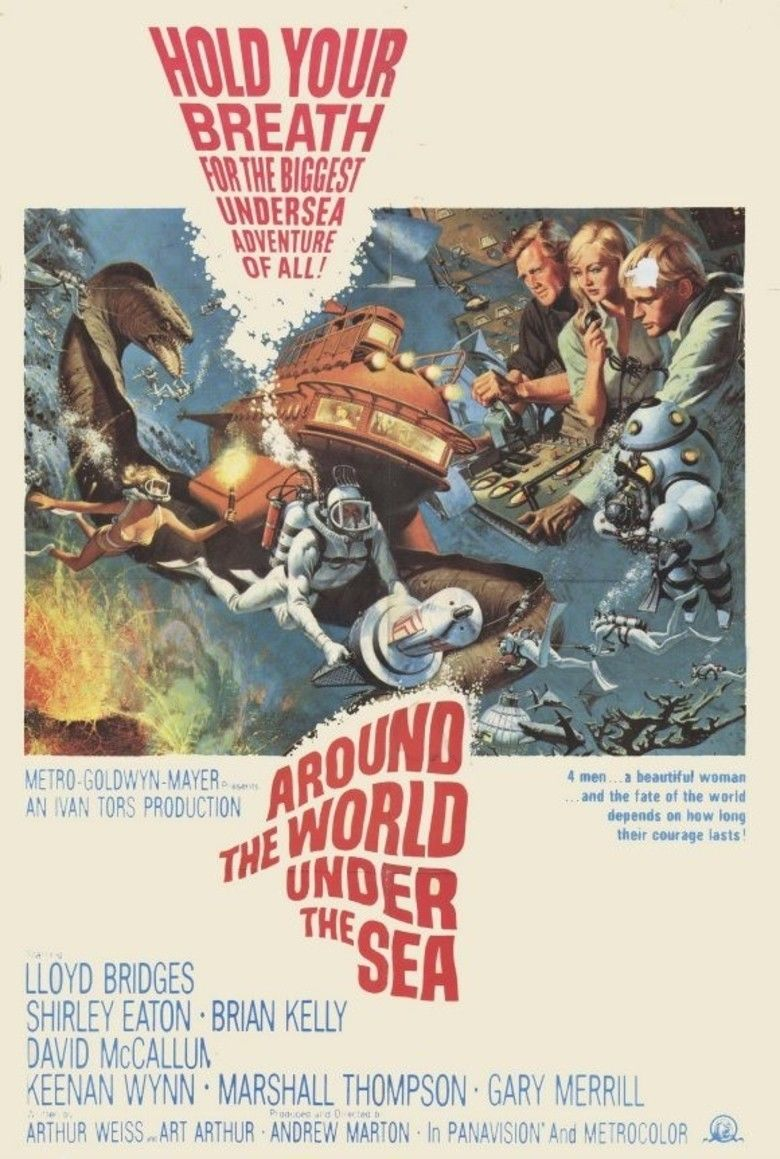 Around the World Under the Sea movie poster