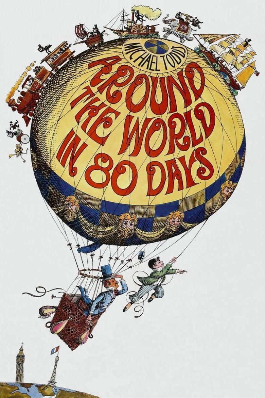 Around the World in 80 Days (1956 film) movie poster
