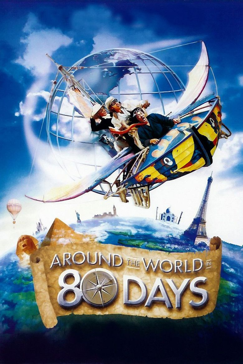Around the World in 80 Days (2004 film) movie poster