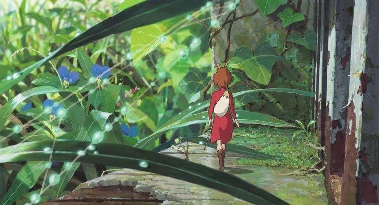 Arrietty movie scenes