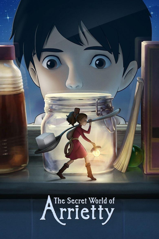 Arrietty movie poster