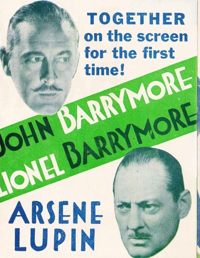 Arsene Lupin (1932 film) movie poster