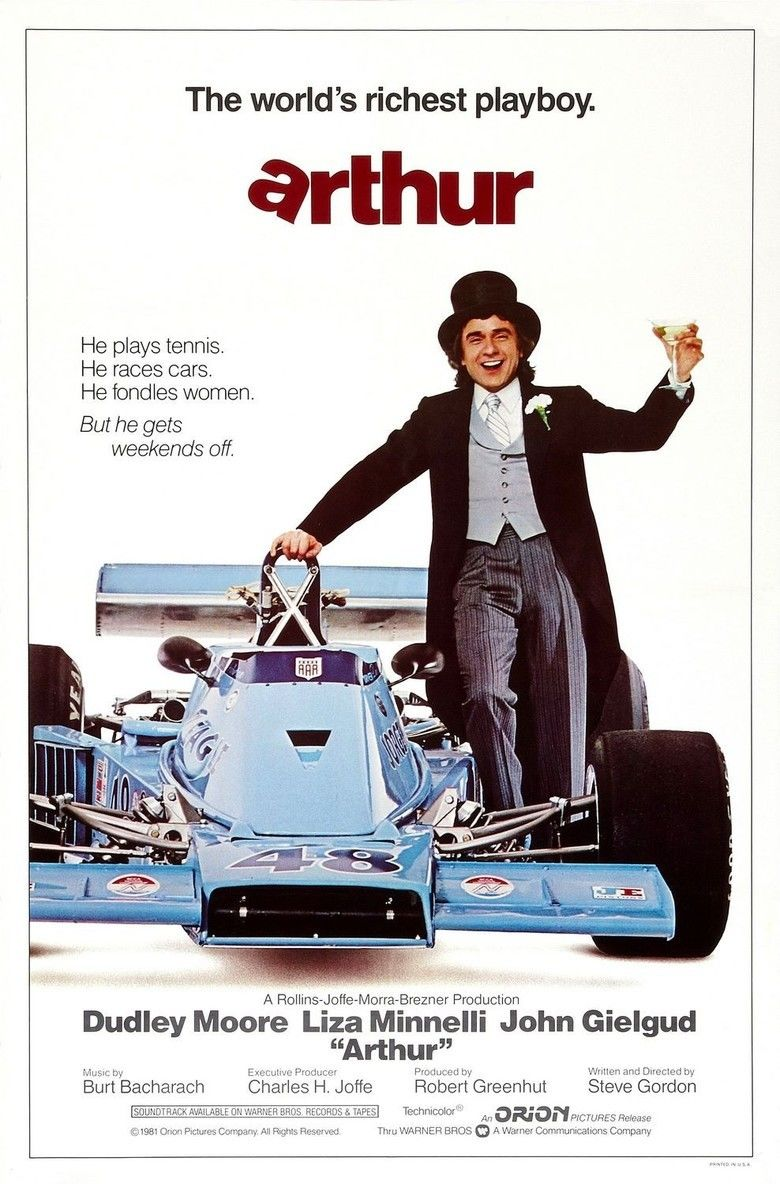 Arthur (1981 film) movie poster
