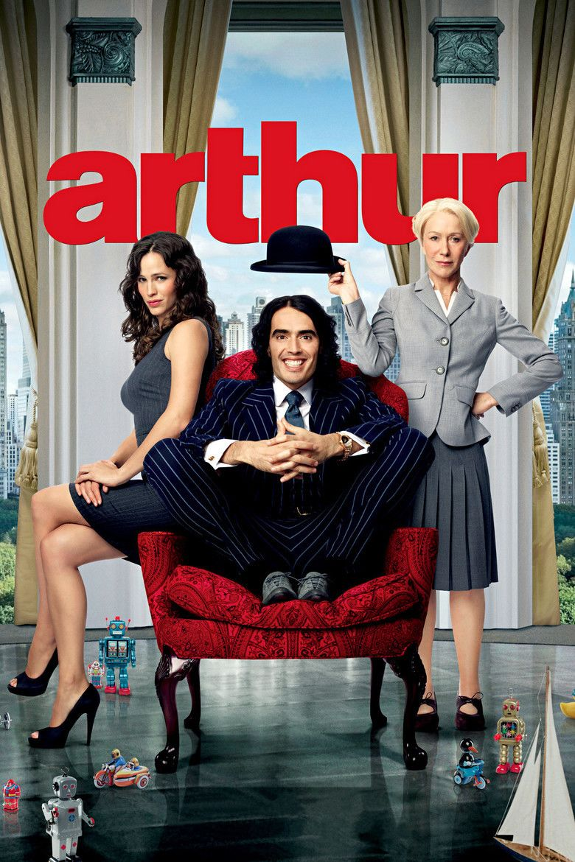 Arthur (2011 film) movie poster