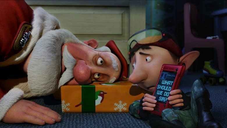 Arthur Christmas movie scenes