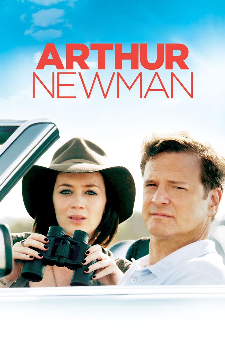 Arthur Newman (film) movie poster