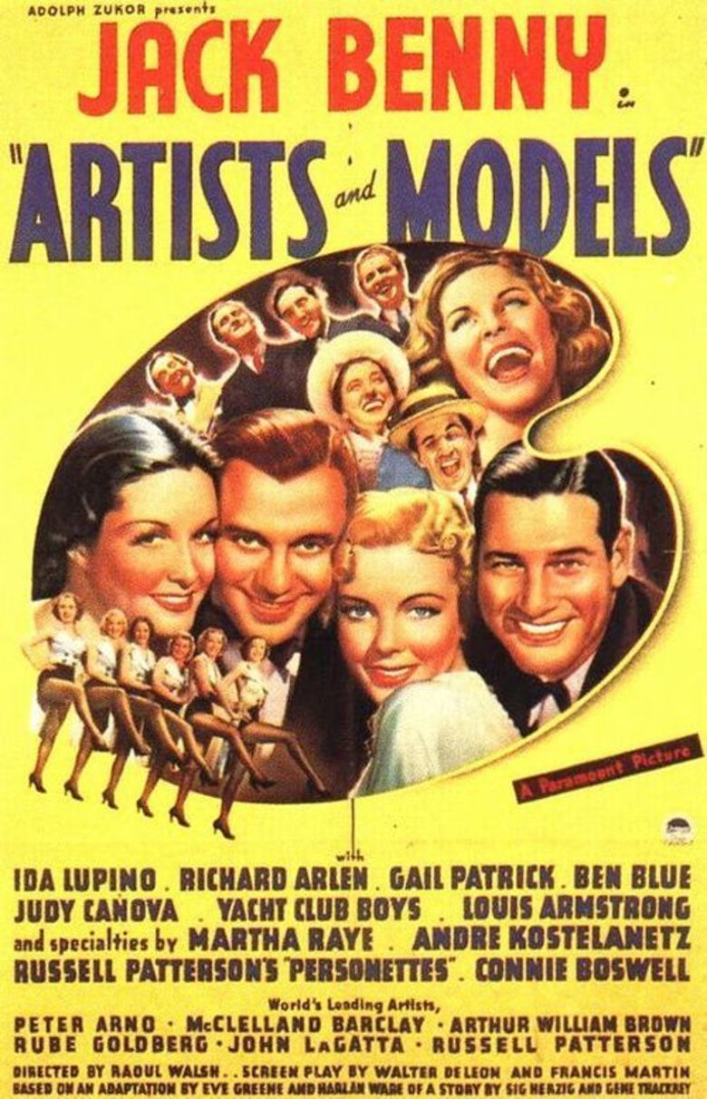 Artists and Models (1937 film) movie poster