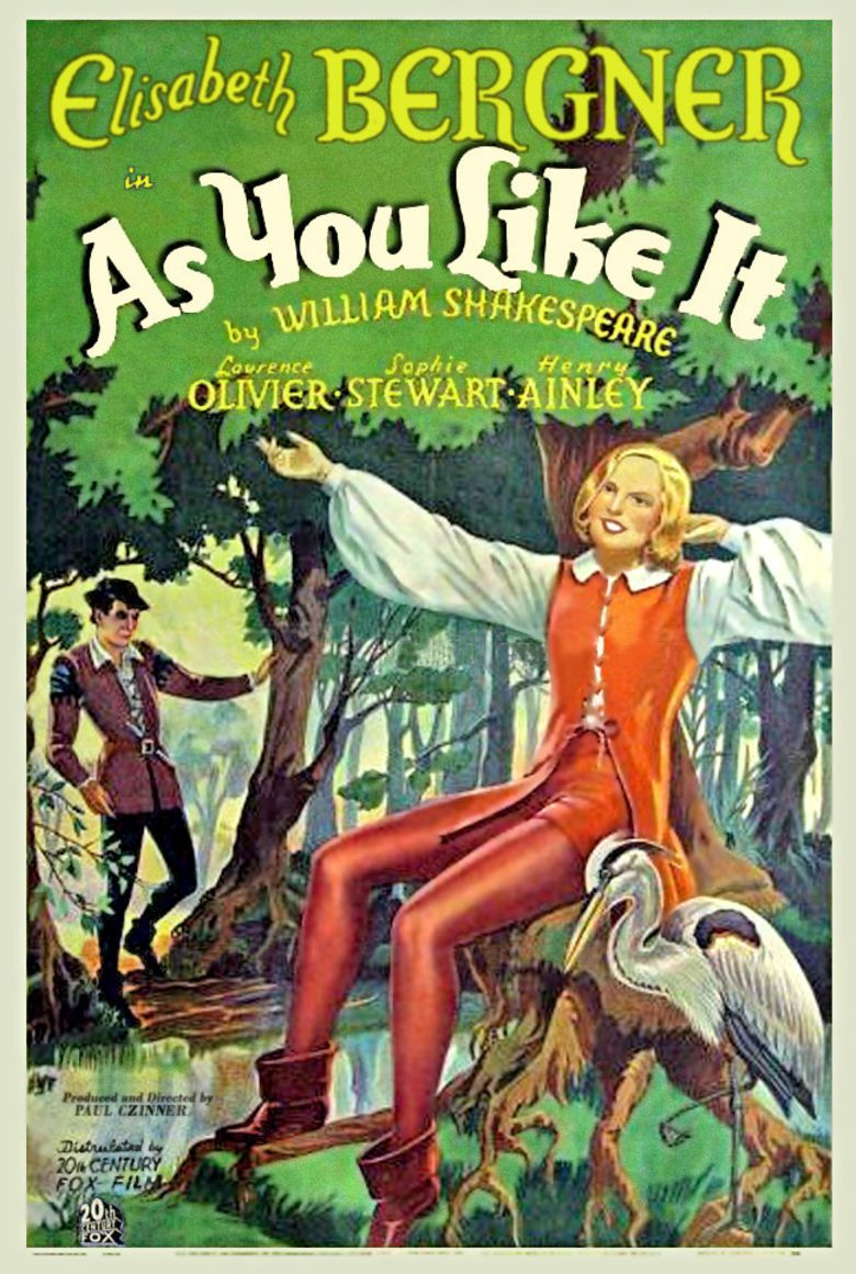 As You Like It (1936 film) movie poster