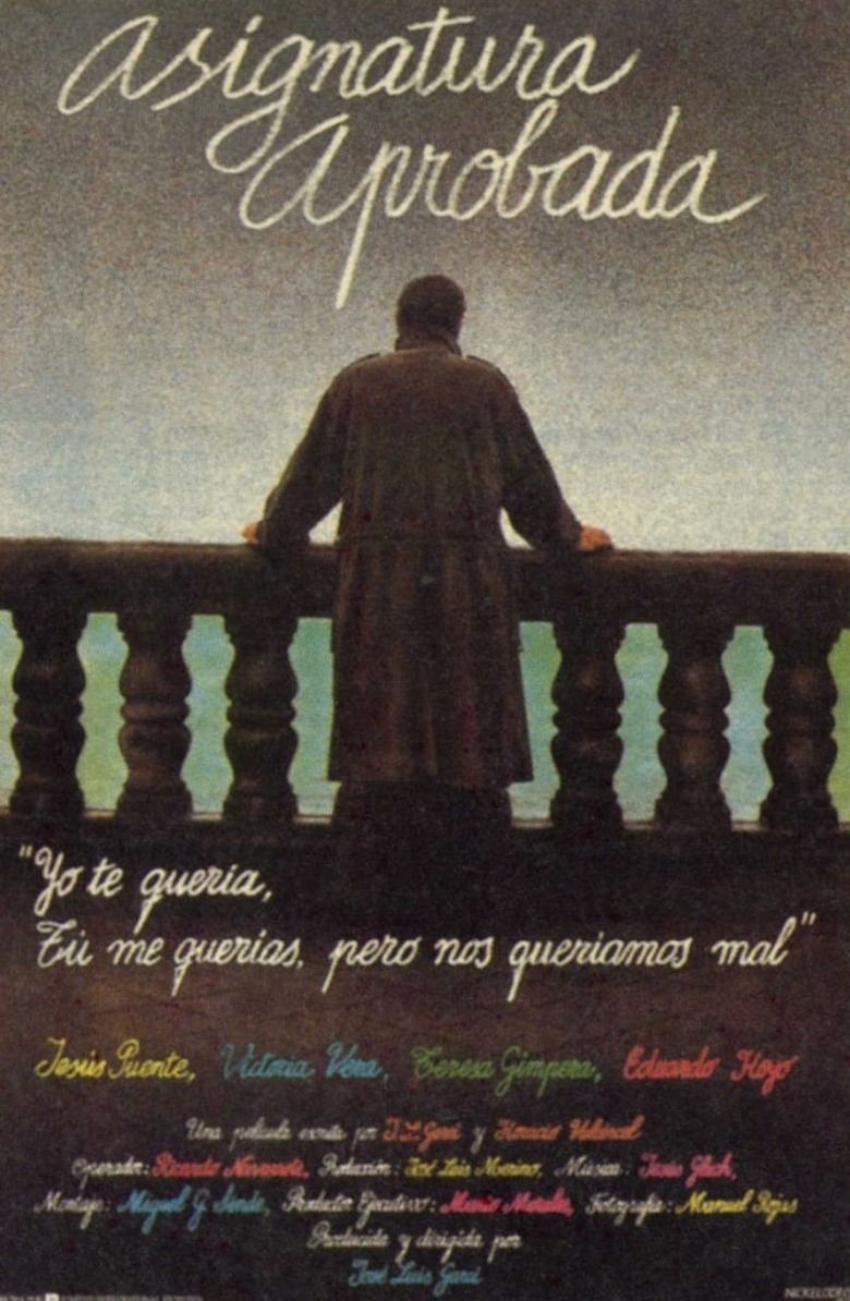 Asignatura aprobada movie poster